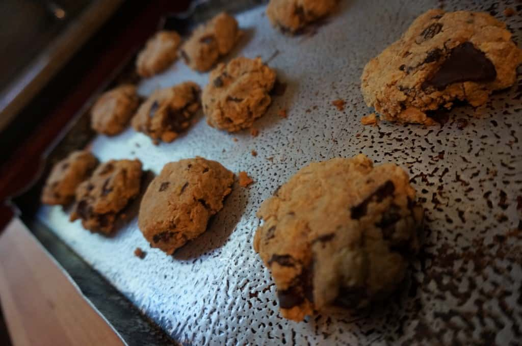 Oatmeal Raisin Chocolate Munch Cookies