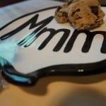 Chocolate Almond Stuffed Cookies with Pumpkin Hot Chocolate